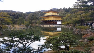 The beautiful Kinkakuji