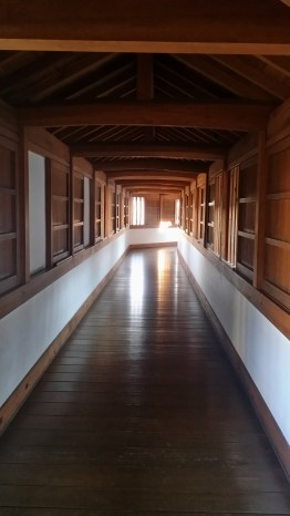 Inside the Long Corridor of the West Bailey Palace