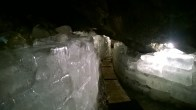 Some of the ice in the Ice Cave and a low point in the path (but not the lowest)!