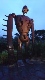 On top of the Ghibli Museum!