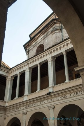 One of my favorite museums in Rome. The Tissot exhibit was a beautiful way to explore an artists vision of the world.