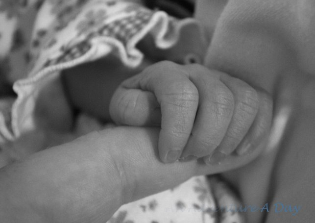 Little hands that have yet to grasp the complexities surrounding them.