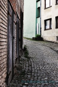 Graceful curves on cobblestone lanes