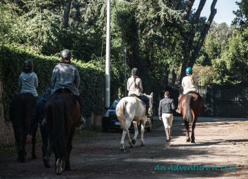 Exploring the Appia Antica on horseback gives you a new perspective.