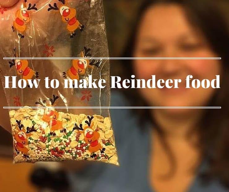 A Fun Diy How To Make Reindeer Food For Christmas Eve