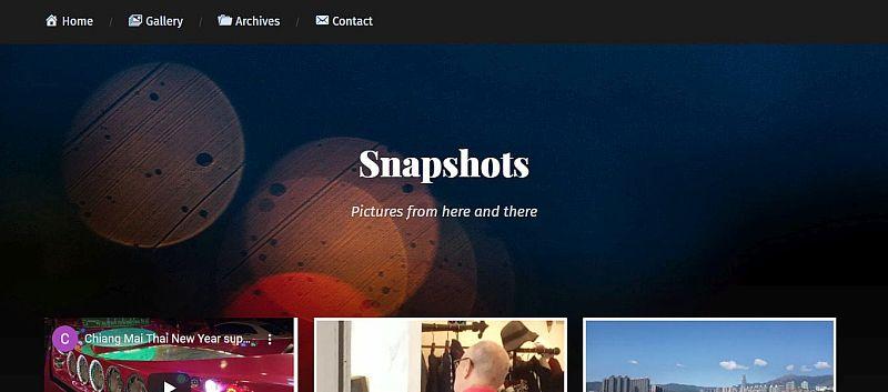 Showcase – My Snapshots