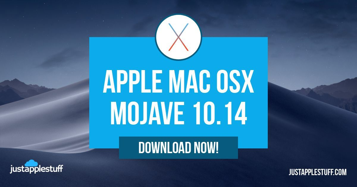 Apple Mac OSX mojave 10.14 download