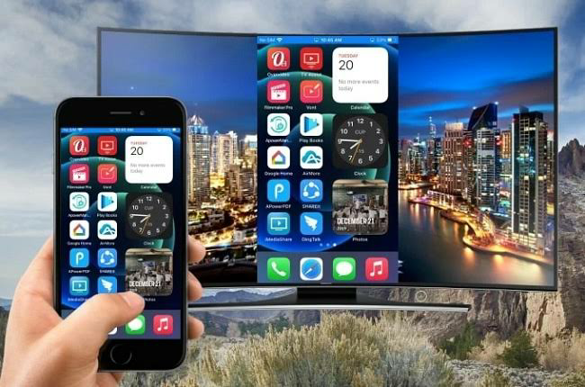 Connect iPhone To Samsung Tv