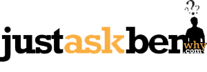 Just Ask Ben Why Logo
