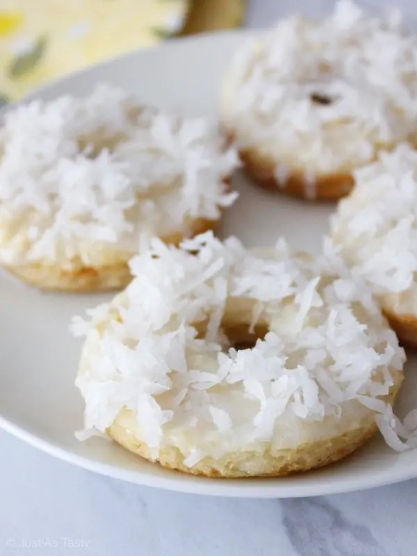 Piña Colada Donuts – Gluten Free, Eggless