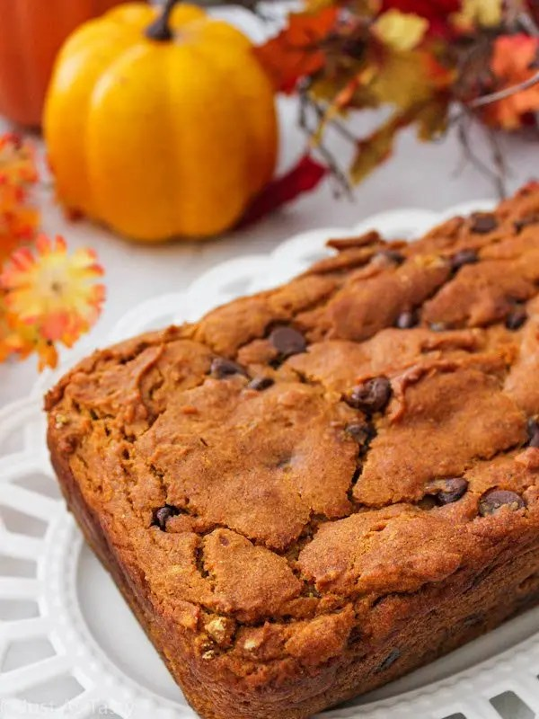 Easy Pumpkin Bread – Gluten Free, Eggless