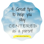 centered as a parent