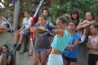 Cousin Janja, the archery master