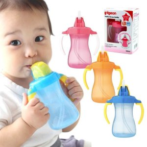 Pigeon Petite Straw Bottle 150ml in All Colors