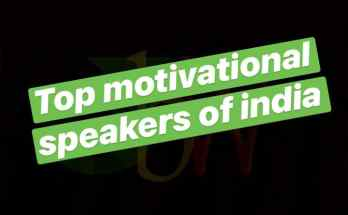 top motivational speakers in India
