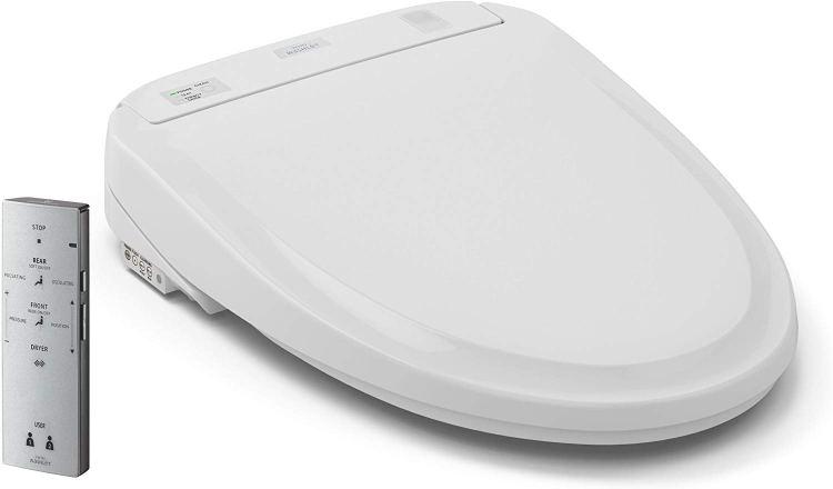 TOTO SW583#01 S350e Washlet Round Electronic Bidet Toilet Seat