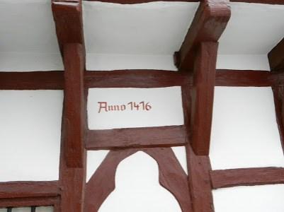 Built since 1416