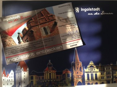 Tour arranged by The Tourismus Information-3.5 Euros and you've got a ticket to go up!