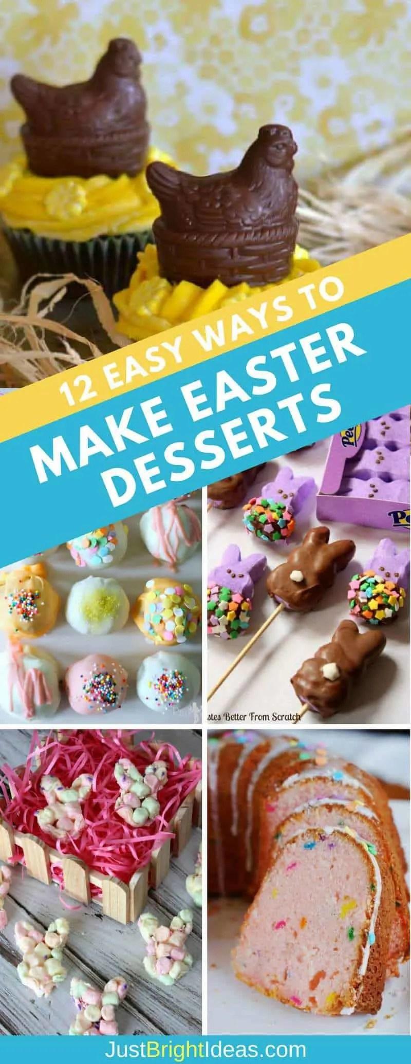 Easter Desserts Easy Make