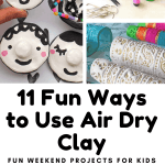 11 Fun Projects Your Kids Can Make With A Lump Of Air Dry Clay