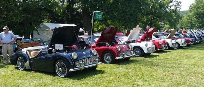 Lineup of TR3s at DVT 2021 Show