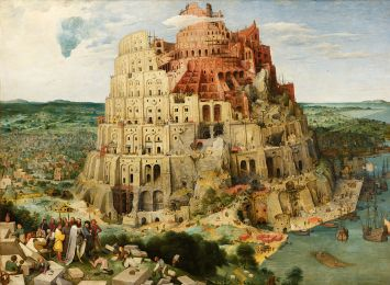Tower of Babel painting by Pieter Brueghel the Elder