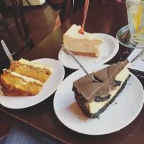 Carrot Cake, Oreo Cheesecake & New York Cheesecake