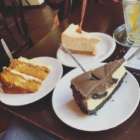 Carrot Cake, Oreo Cheesecake & New York Cheesecake