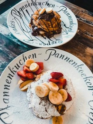 2 soorten pancakes