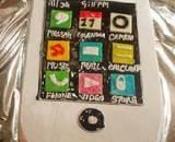 iPhone Shape Cake