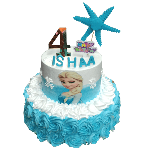Frozen Them Cake OR Elsa Theme Cake in Pune