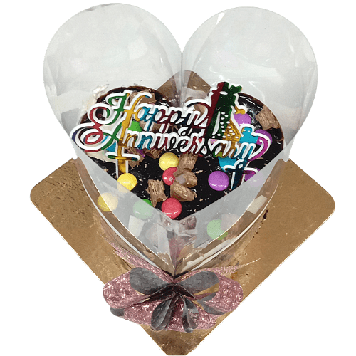 Heart Shaped Pull Me Up Cake