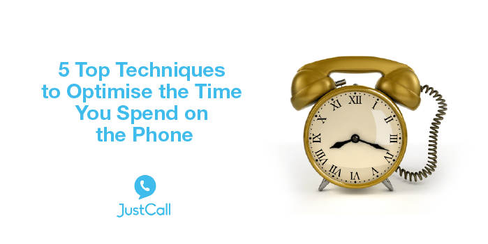 5 Top Techniques to Optimize the Time You Spend on the Phone