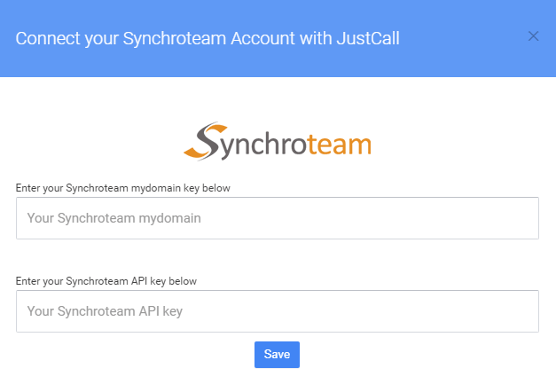 synchroteam integration