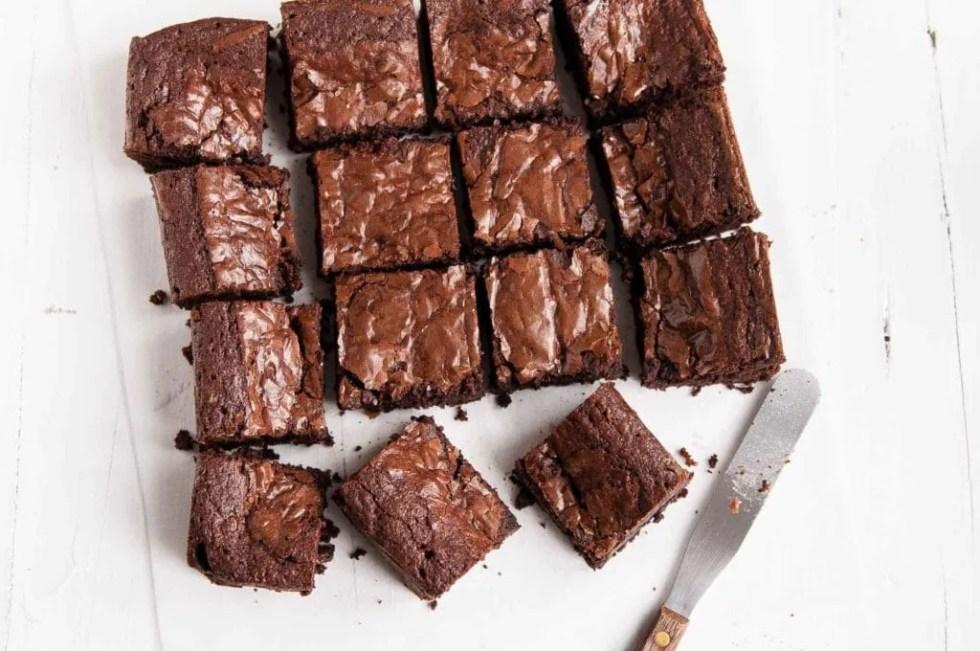 easy chocolate brownies 9 - How to Make Pot Brownies