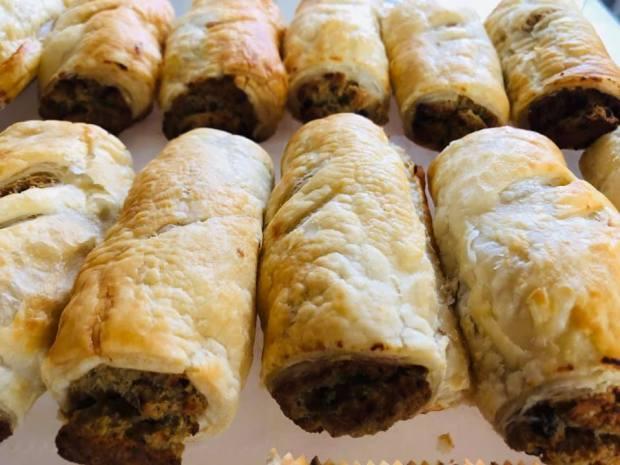 tofurei norwich vegan sausage rolls