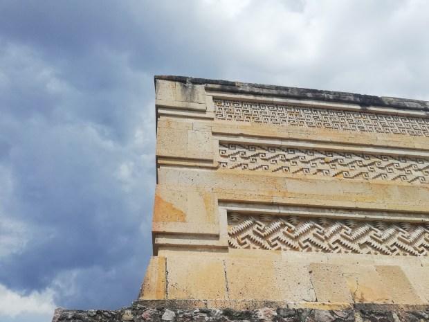 Mitla Zapotek ruins Oaxaca mexico
