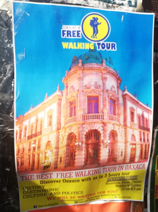 Free walking tours of oaxaca