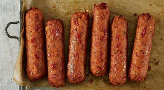 Linda McCartney gluten free vegan sausages