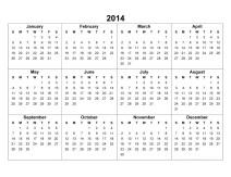 Jandscape-Calendar