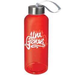 Quench water bottle red