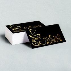 Business Card gold foil