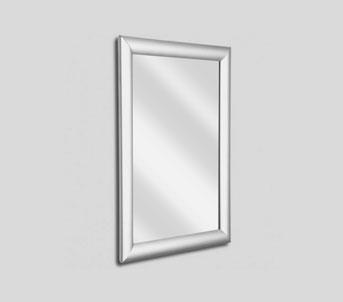 Silver waterproof snap frame