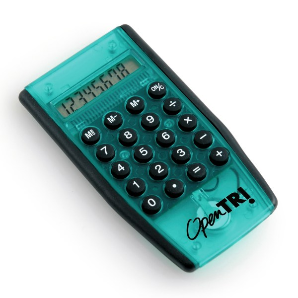 promotional printed calculator