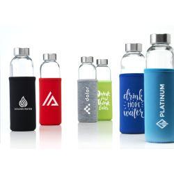promo glass bottle printing