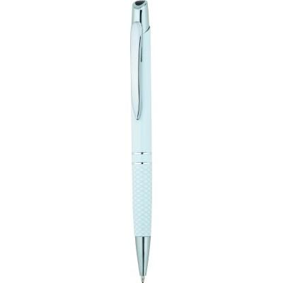 Toronto metal pen white