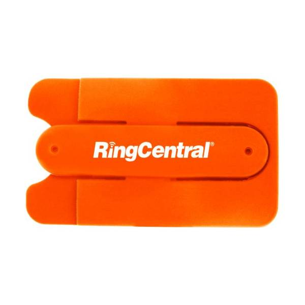 Silicone Card Holder with Stand