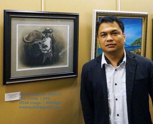 Philippine Artists Debut in 'Unang Handog' Exhibit in SFO