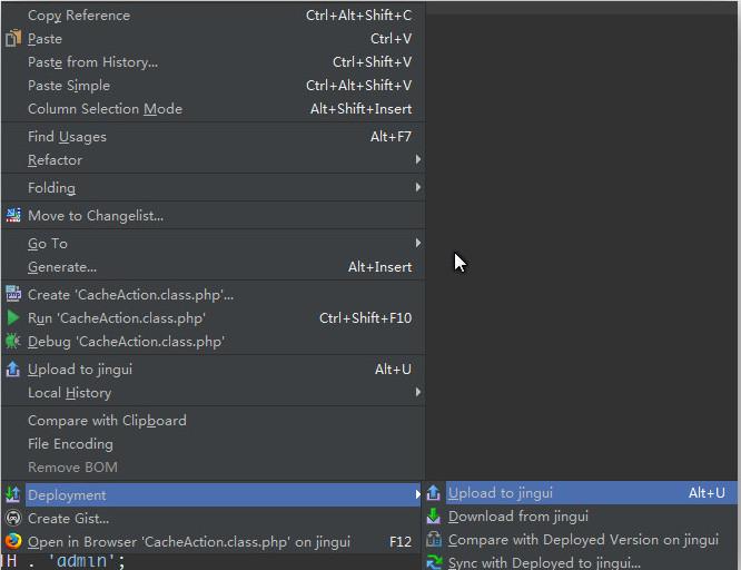 如何在Webstorm/Phpstorm中设置连接FTP,并快速进行文件比较,上传下载,同步等操作
