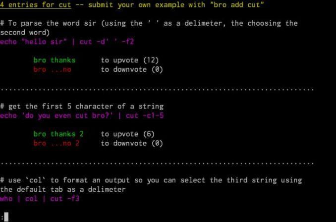 Linux: Shell 神器, 神器软件, 命令行软件